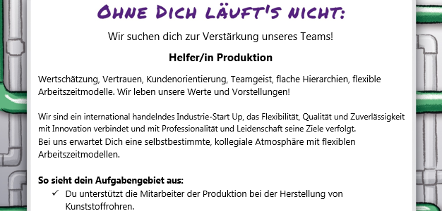 Helfer/in Produktion